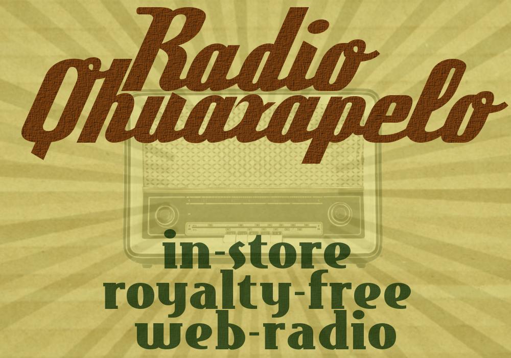 RadioQ, la web-radio per il tuo ambiente commerciale, 100% Royalty-Free… 100% Gratis!